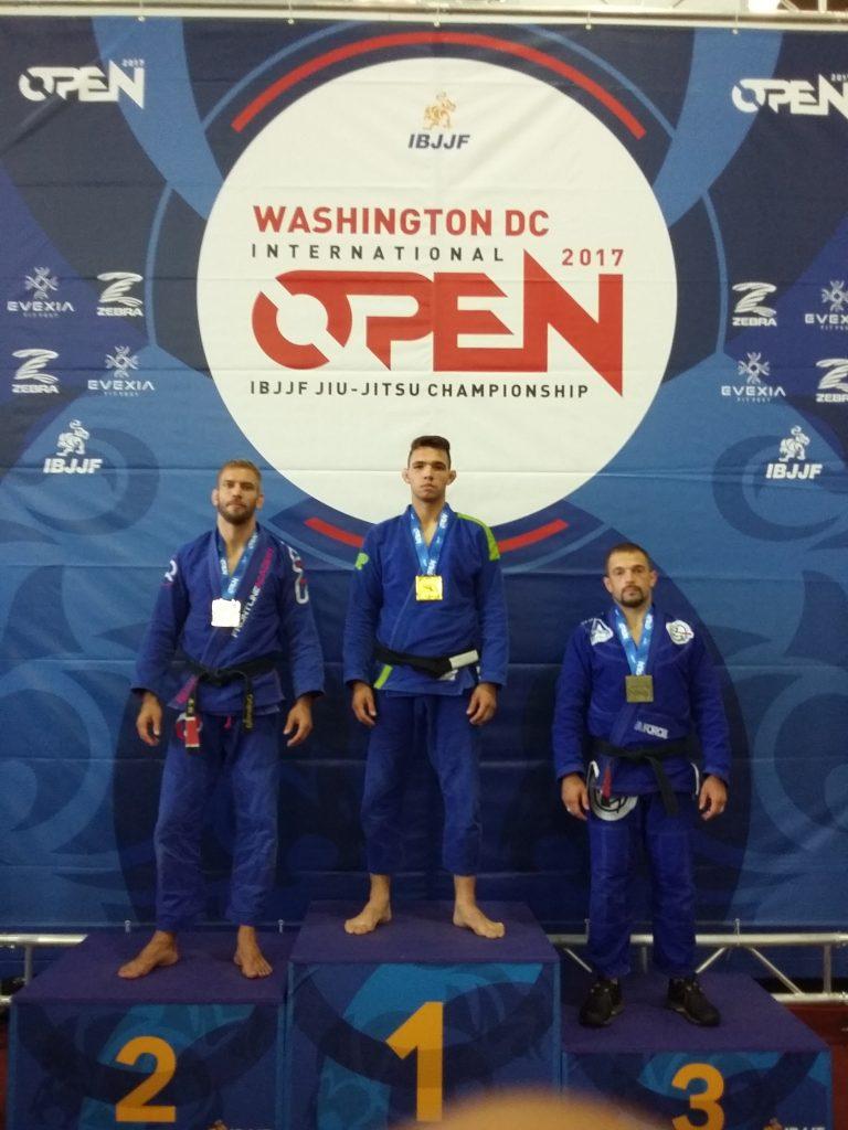 Washington Open podijum